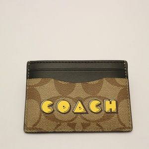 Coach PacMan Card Case